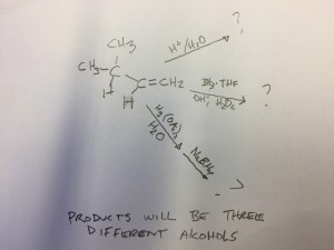 THREE ALCOHOLS PROBLEM